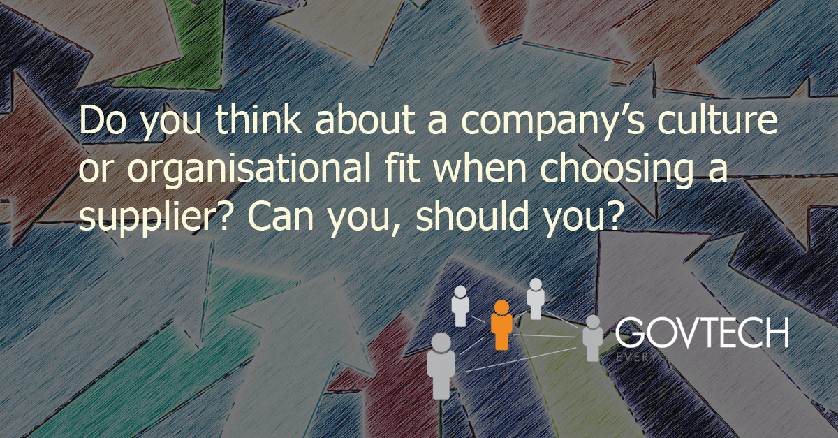 Do you think about a company's culture blog post