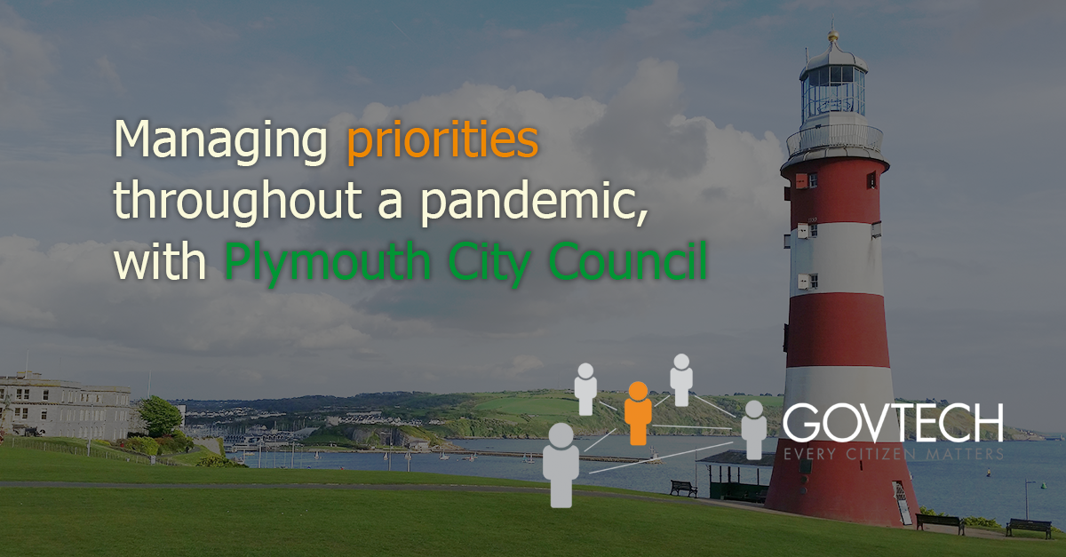 Managing priorities throughout a pandemic, with Plymouth City Council blog post