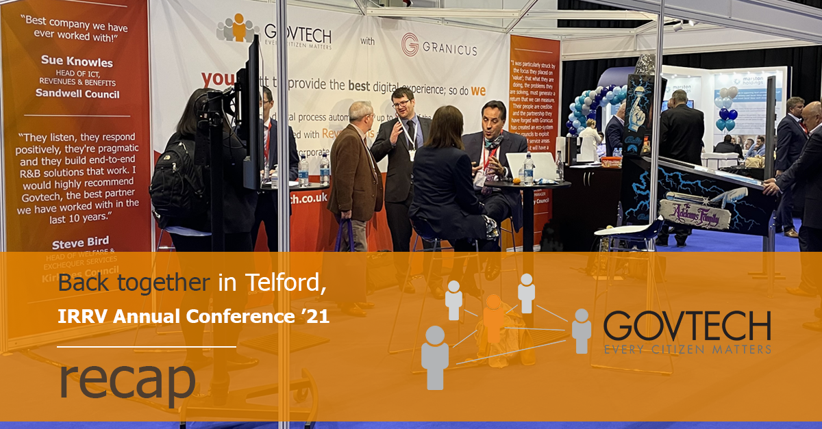 Back together in Telford, IRRV Annual Conference '21 recap